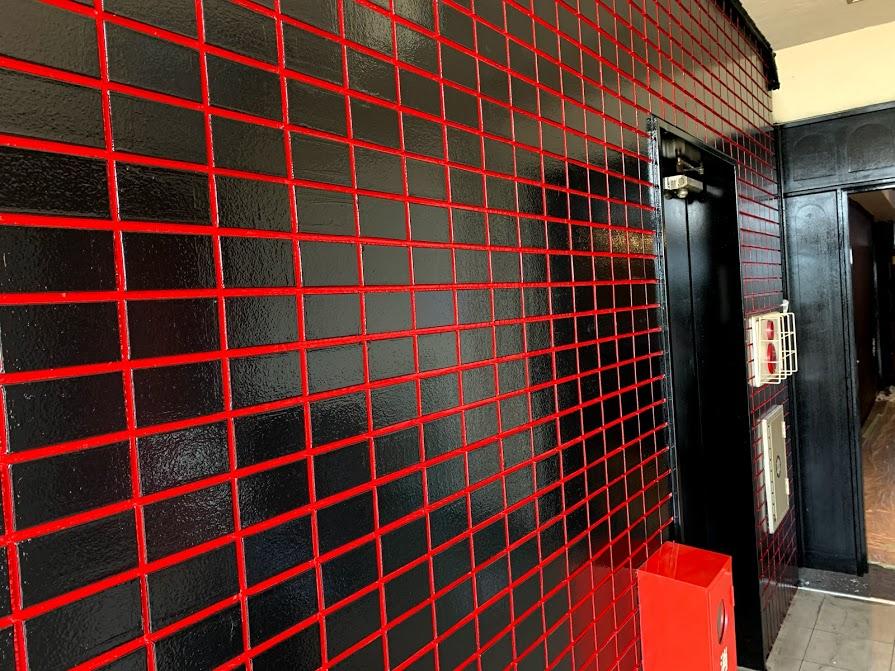 エレベーターホール塗装